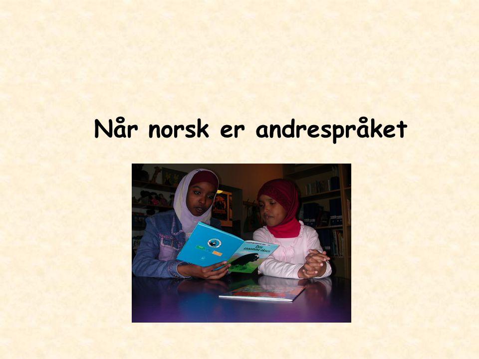 Når norsk er andrespråket