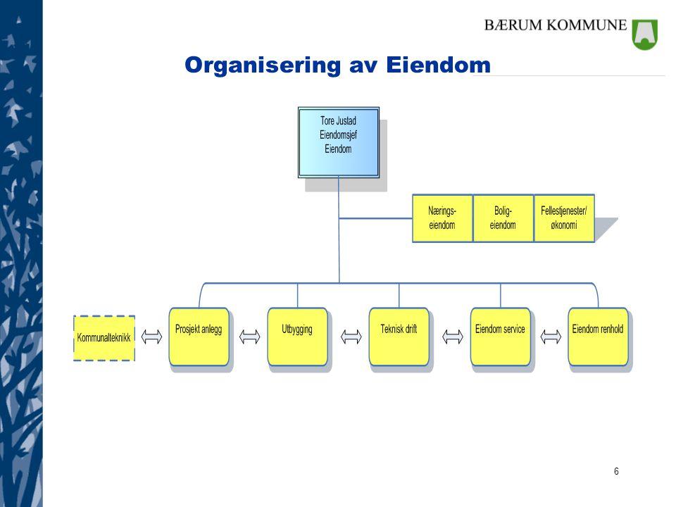 6 Organisering av Eiendom