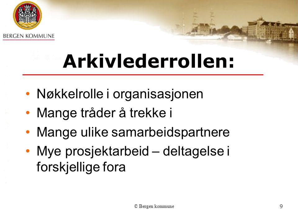 © Bergen kommune20 IT-sikkerhetsplan – Bergen kommune Sensitive personopplysninger skal behandles og lagres i sikre soner hvor kun autoriserte brukere gis tilgang – (tilgangsgrupper) for eksempel i BKPERS.