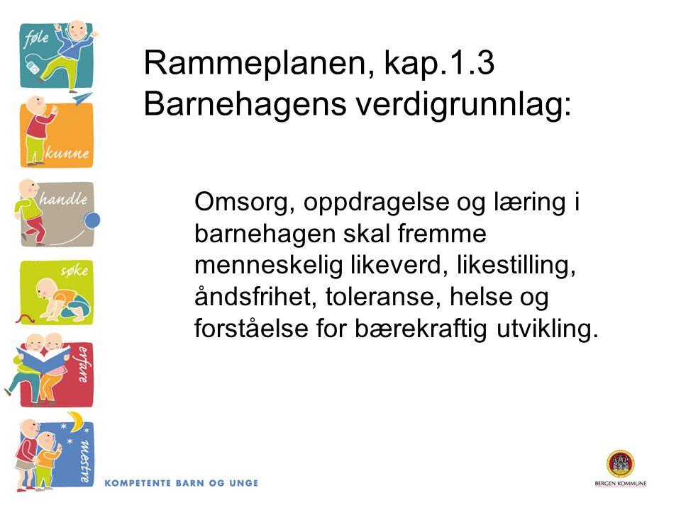 Barnet som subjekt Berit Bae: Å se barn som subjekt – noen konsekvenser for pedagogisk arbeid i barnehage Kreves en bevisstgjøring av voksnes forhold til: -Barns medvirkning -Omsorg -Barns lek -Barnehagens læringsmiljø