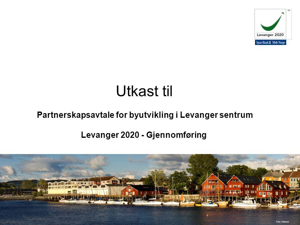 06.08.29 Innherred Vekst AS v/Randi Mona Utkast til Partnerskapsavtale for byutvikling i Levanger sentrum Levanger 2020 - Gjennomføring
