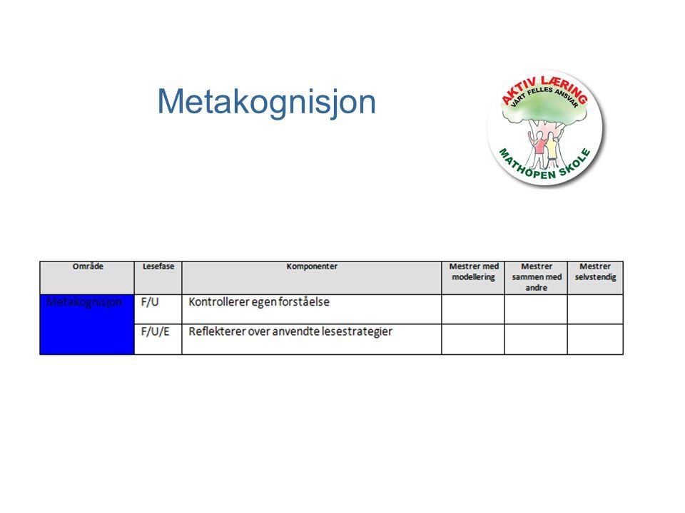 Metakognisjon