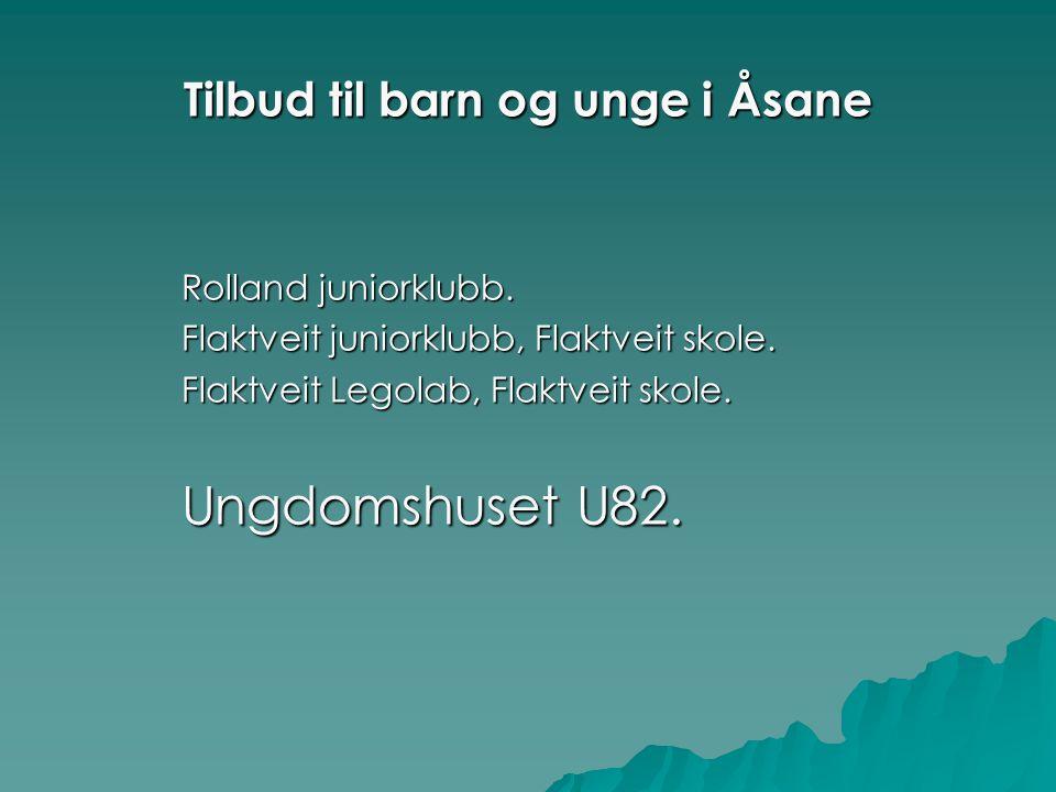 Tilbud til barn og unge i Åsane Rolland juniorklubb.