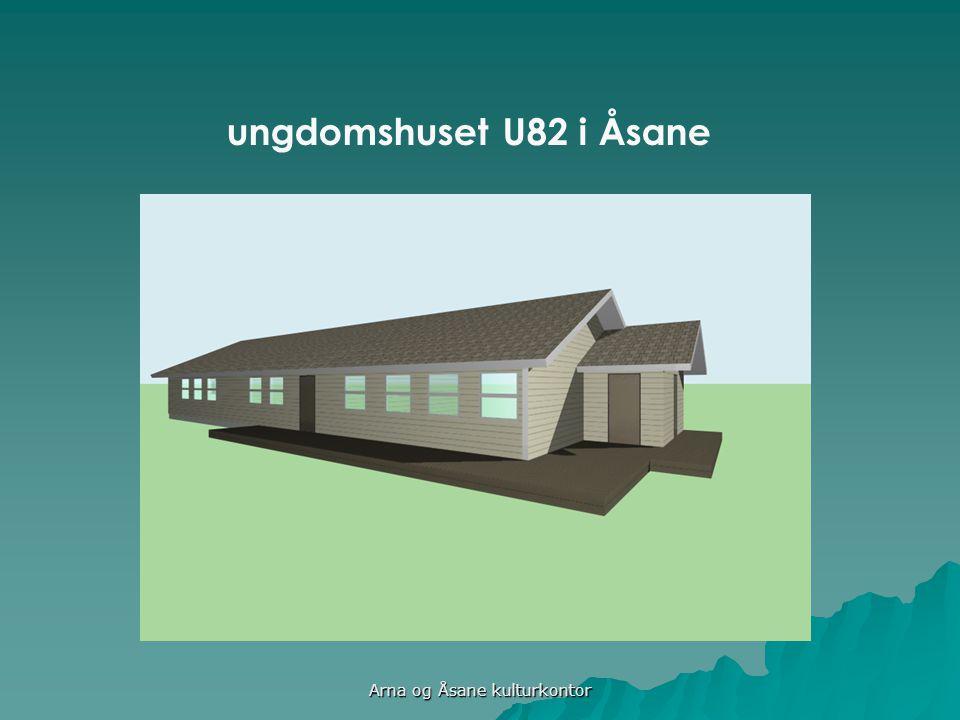 ungdomshuset U82 i Åsane Arna og Åsane kulturkontor