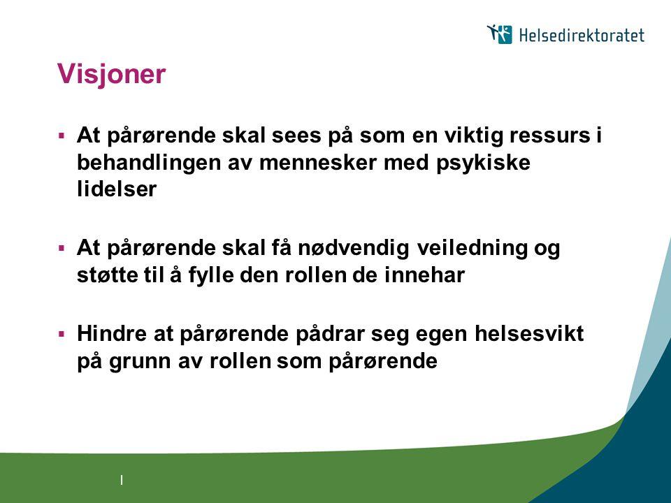   Ny veileder Hovedmålgruppe: virksomhetsledere, helsepersonell og tjenesteytere innen psykiske helsetjenester også nyttig for: brukere, pårørende med flere