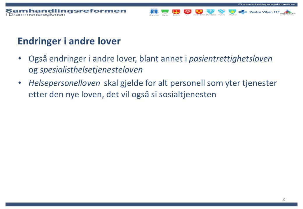 Kommunal medfinansiering 2012 (20 %) Kostnadsanslag – Drammen kommune Administeres av departementet Månedlige á konto beløp:kr.