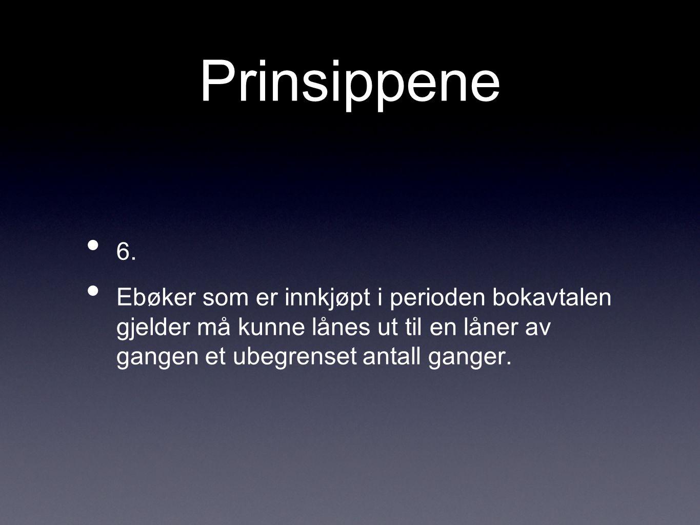 Prinsippene 6.