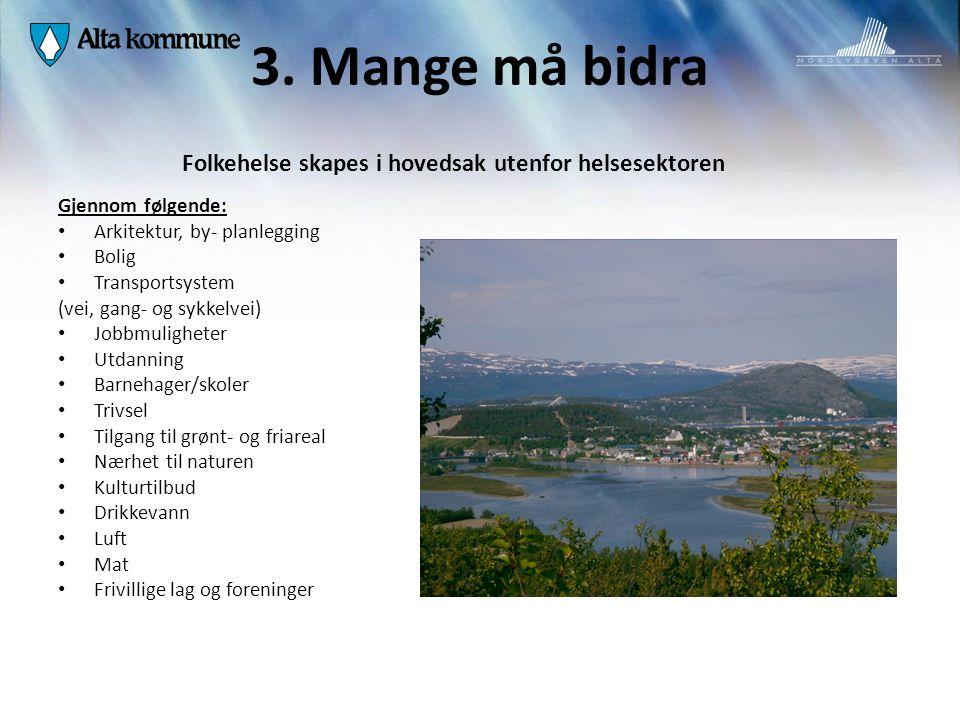Det lille og det store folkehelsearbeidet Illustrasjon fra Helsedirektoratet v/ Anders Smith Kommune- lege