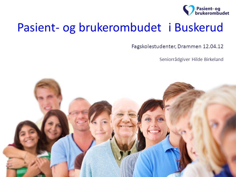 Pasient- og brukerombudet – til NYTTE og BESVÆR Eksempler på saker -Sykehjemsplass.