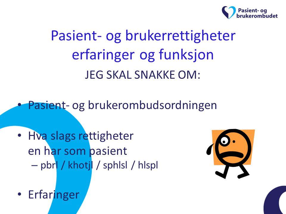 Ombudskontoret i Buskerud 4 ansatte på kontoret – Ombudet, 2 rådgivere, 1 sekretær 50% Statens Hus, Drammen 939 saker i 2011 (hittil i år ca 320) – nasjonalt 14 250