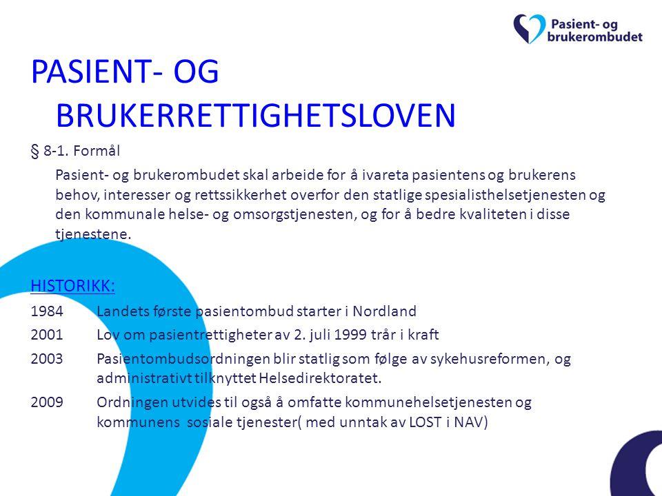 Helsepersonelloven Krav til forsvarlighet Plikt til informasjon til pasienter m.v.