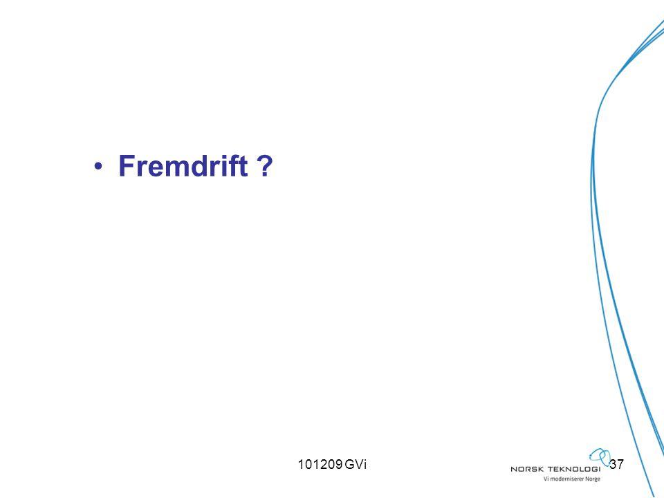 101209 GVi37 Fremdrift ?