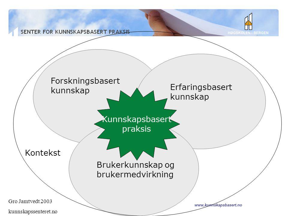 www,kunnskapsbasert.no 40% information 60% interpretation