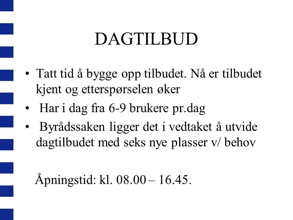 HVA ER SPESIELT MED PASIENTENE/BRUKERNE VÅRE.