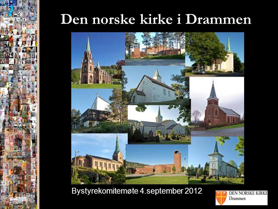 Den norske kirke i Drammen Bystyrekomitemøte 4.september 2012