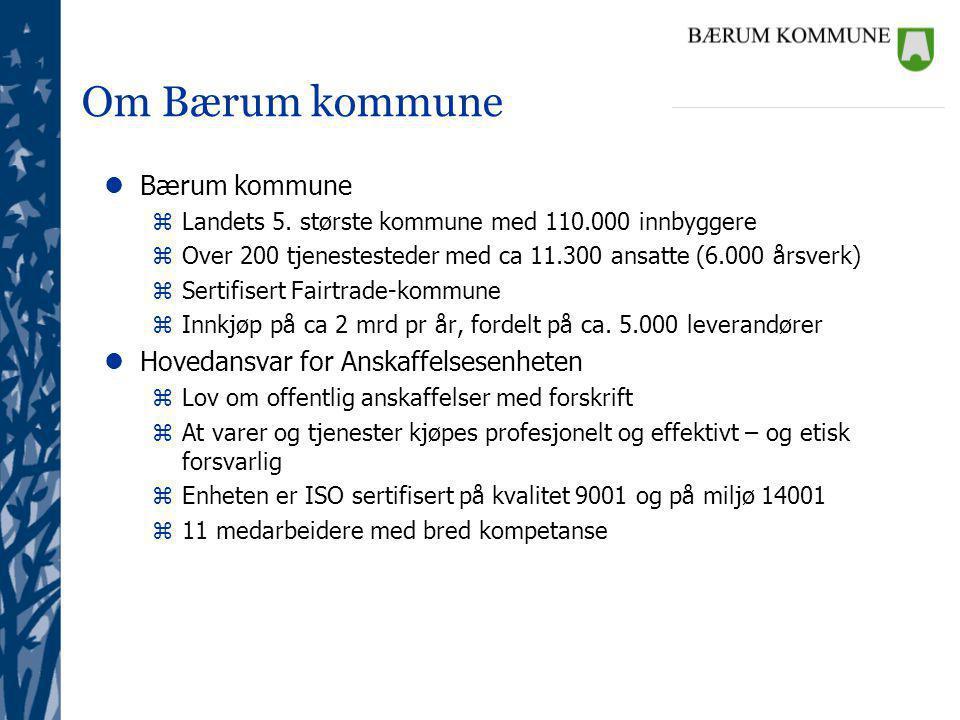 Om Bærum kommune lBærum kommune zLandets 5.