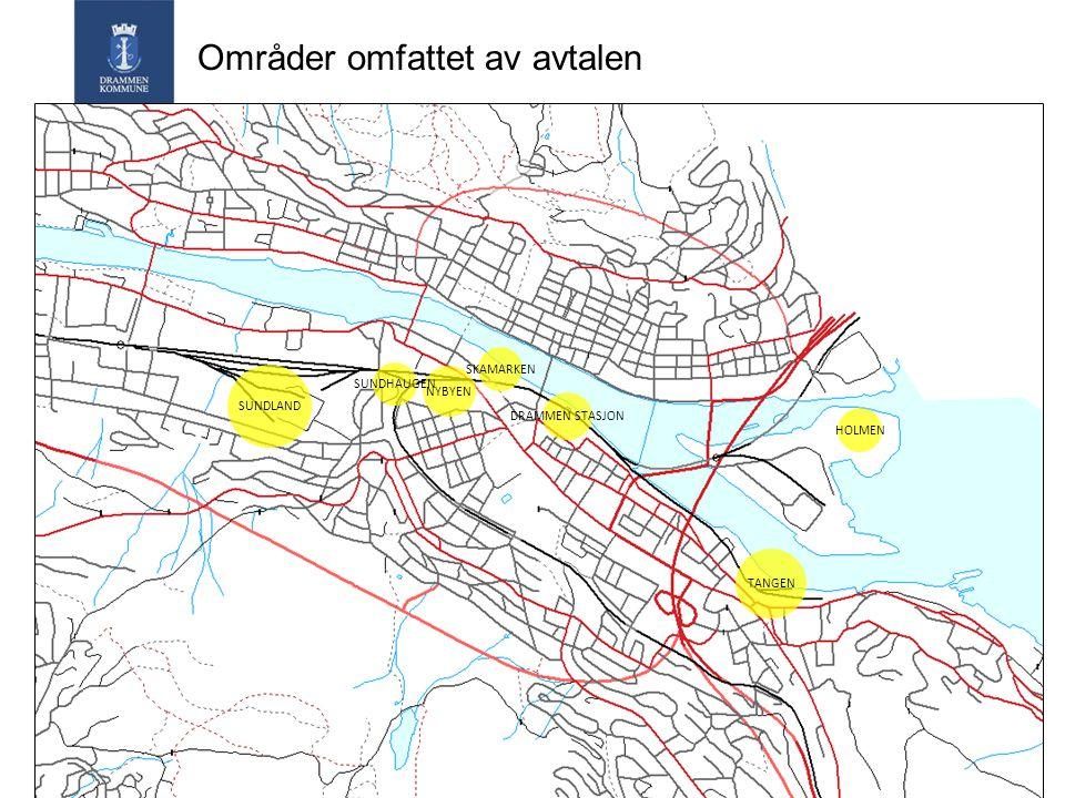 Sundland Partene arbeider for at godsterminal er flyttet midlertidig til Holmen innen 1.1.2014 Revidert reguleringsplan fremmes av ROM og DK.