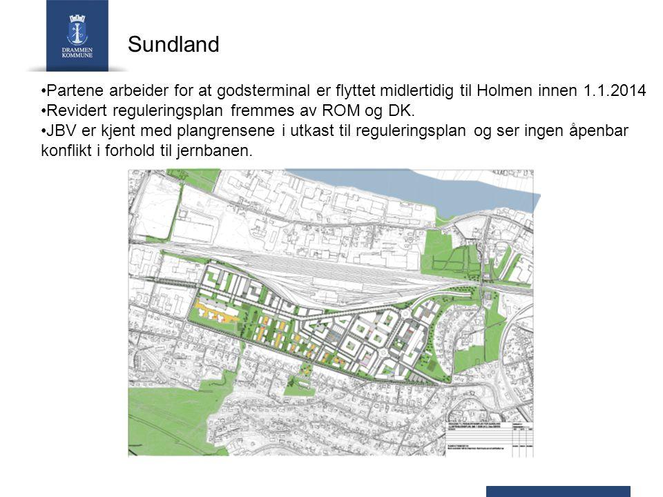 Sundhaugen, del 2 Det forutsettes at hensettingsspor legges under tak som overfylles og beplantes.