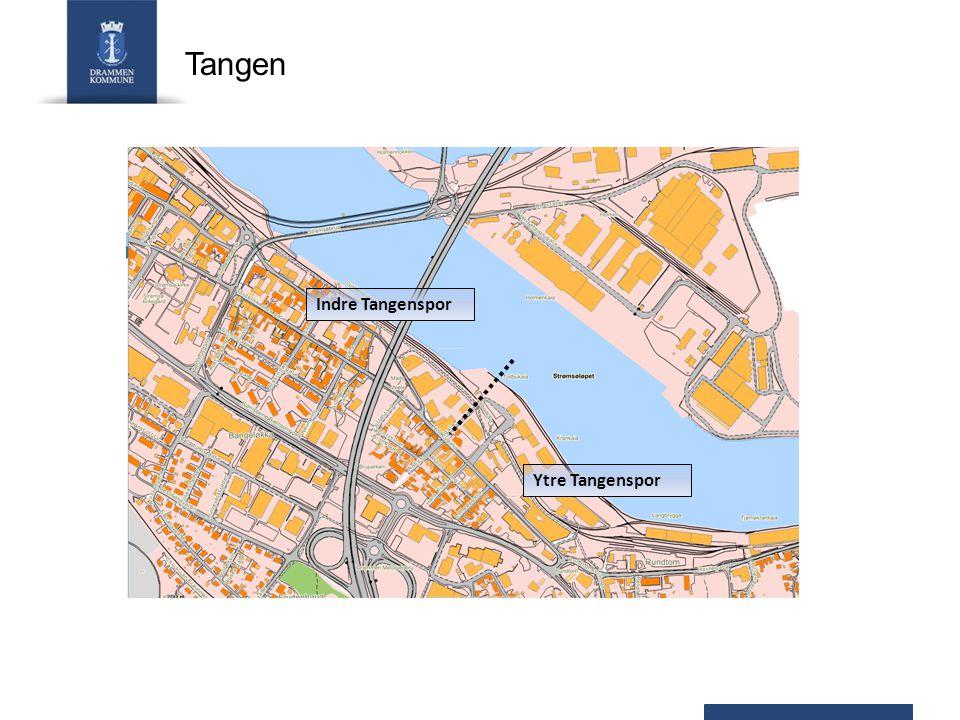 Indre Tangenspor Ytre Tangenspor Tangen