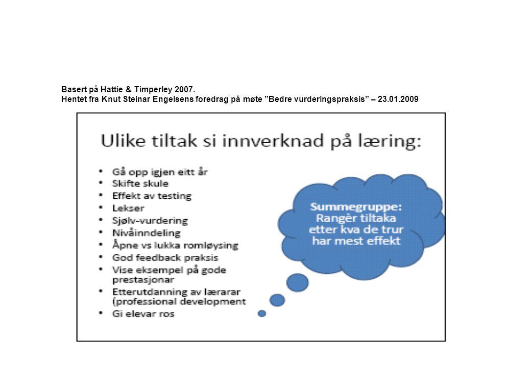 http://skolenettet.no/templates/Page.aspx?id=46404&epslanguage=NO © HSH - RLM-prosjektet