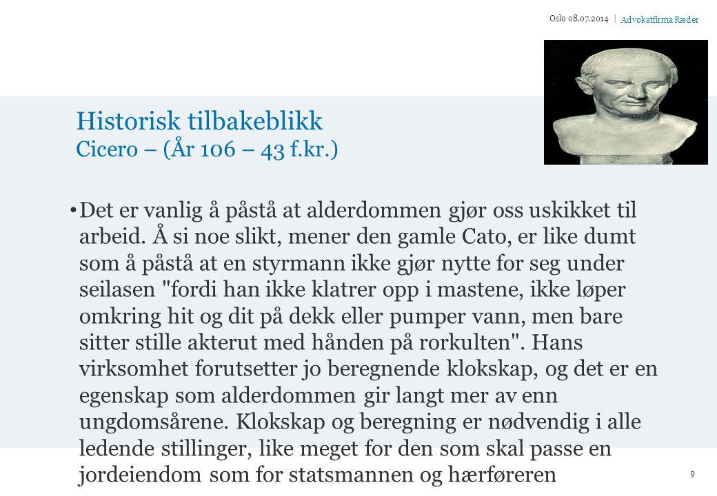 Advokatfirma Ræder Fra ættestup til legdsystem Oslo 08.07.2014 | 10
