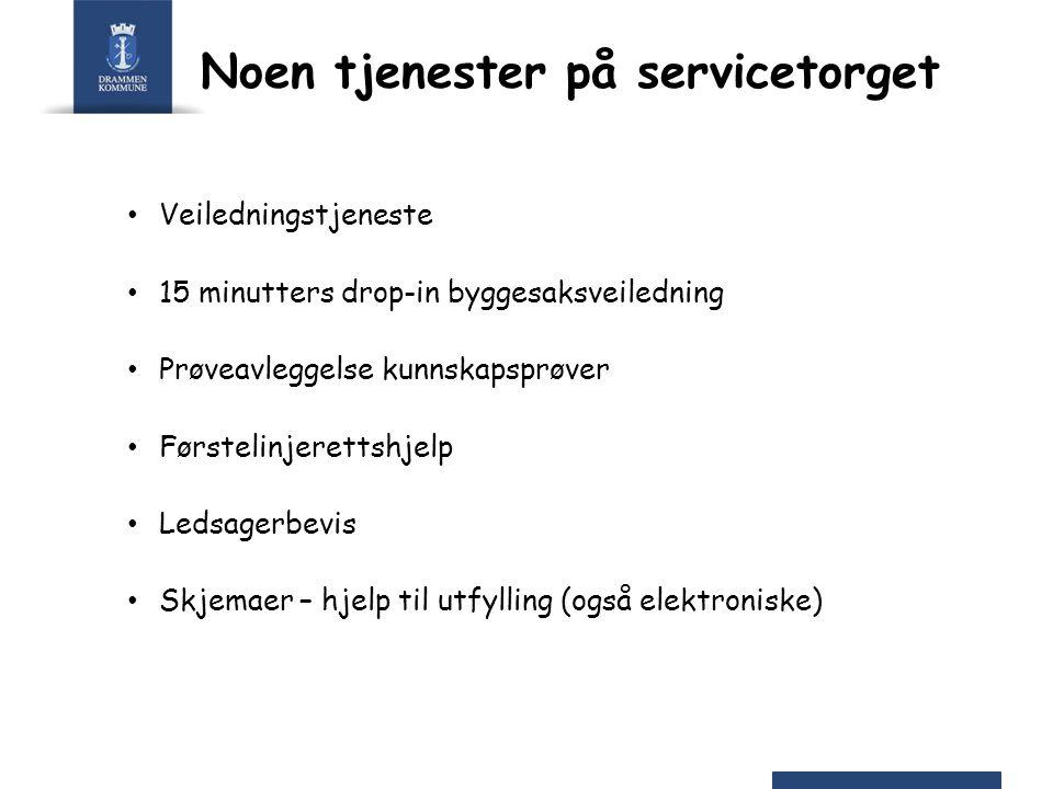Statistikk for servicetorget