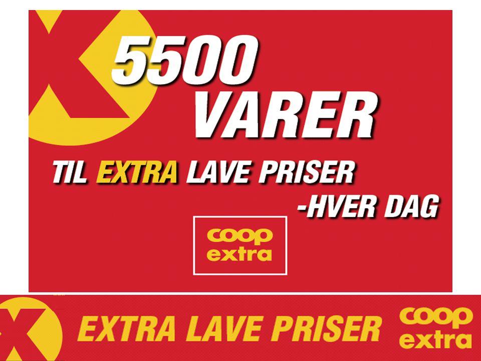 VARER I SORTIMENT Prix (også Rema/Kiwi/Rimi)ca 3000 +ED (Mega matrelatert) 1500 +OD (Obs storpakk+ferskvarer) 500 SUM 5000 +Non Food m.m. 500 SUM ca 5