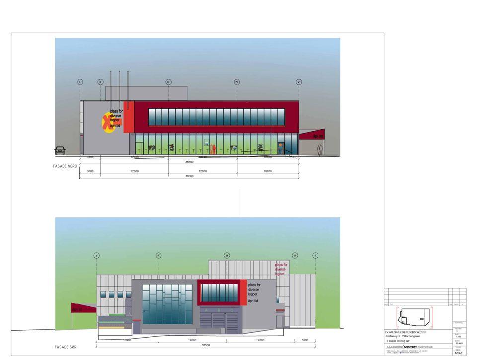 Vår løsning Ny stor Coop Extra dagligvare på 2000 kvm, nytt flaggskip for Coop i Porsgrunn.