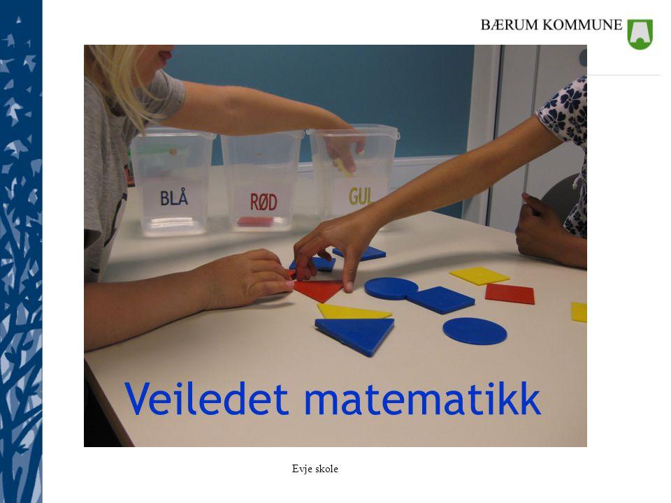 Evje skole L-06 Matematikkfaget i skolen medverkar til å utvikle den matematiske kompetansen som samfunnet og den einskilde treng.