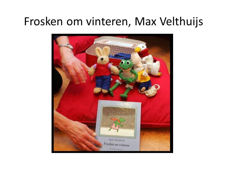Frosken om vinteren, Max Velthuijs