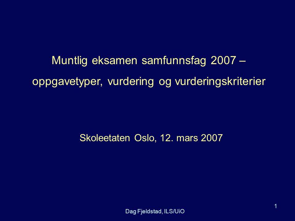 vurderingsskjema muntlig eksamen norsk