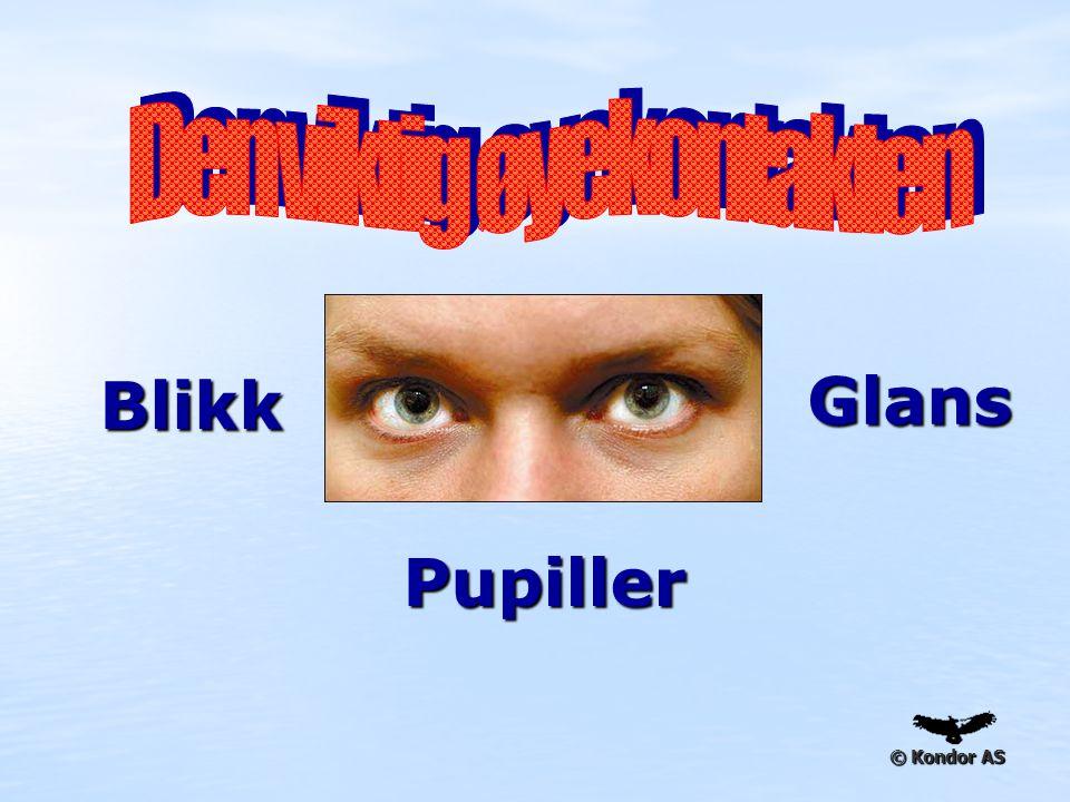 © Kondor AS Pupiller Blikk Glans