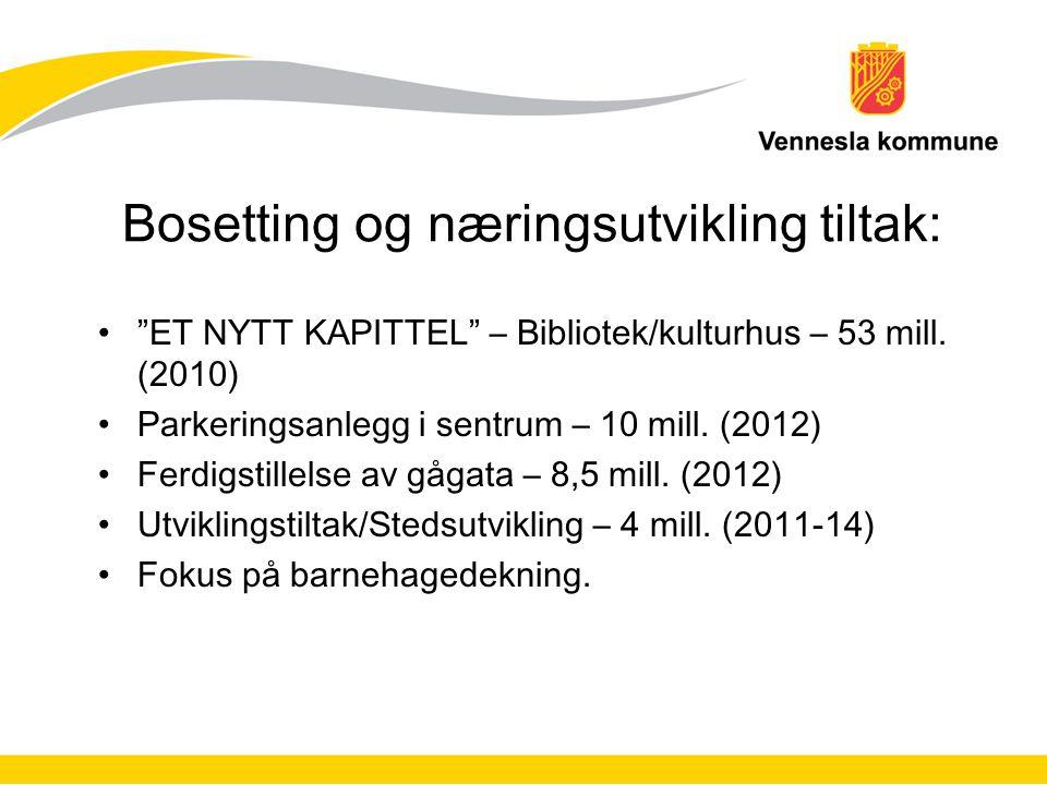 Investeringer i 2011-forts.–Gjenoppbygging av Øvrebøhallen – 50 mill.