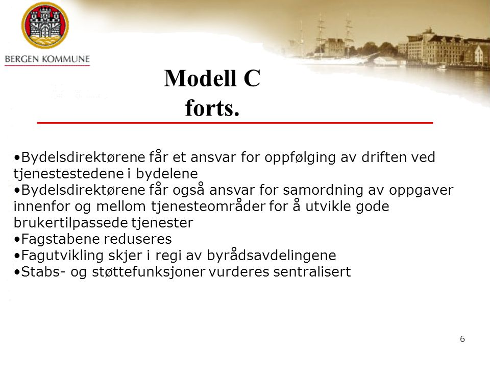 6 Modell C forts.