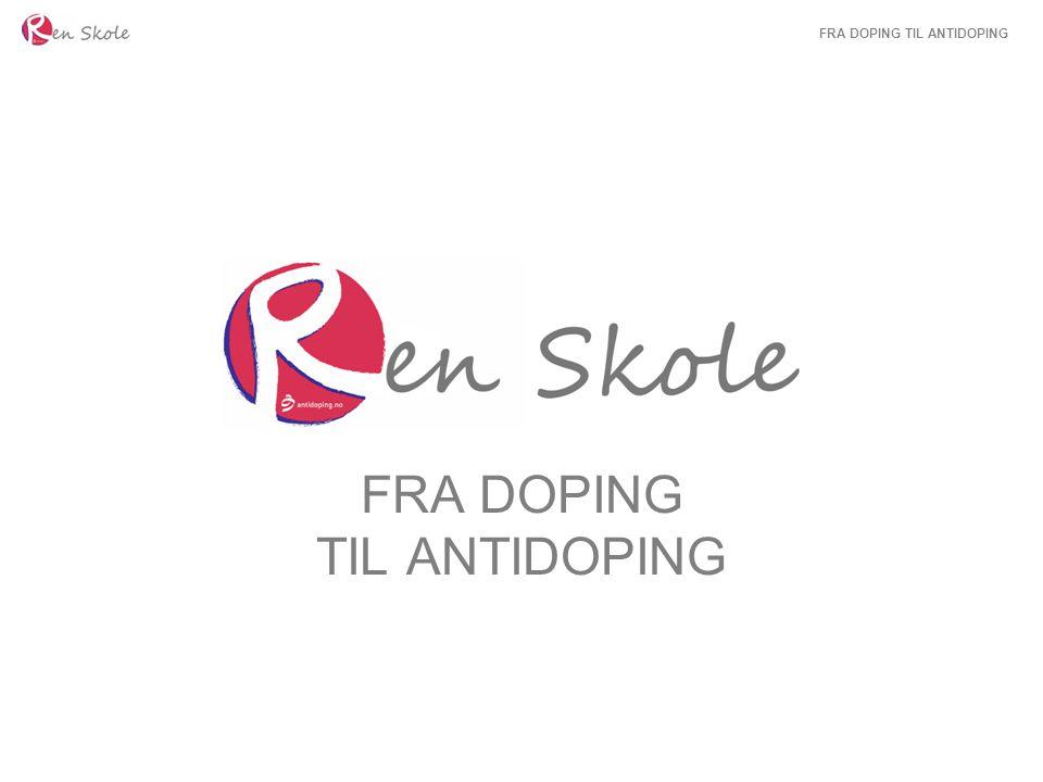 Doping er ikke noe nytt… Gamle Hellas: Bruk av naturprodukter for å fremme prestasjonene.