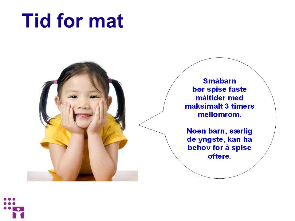 Bestilles kostnadsfritt på www.hev.oslo.kommune.no Materiell om ernæring for barn