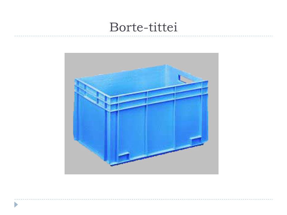 Borte-tittei