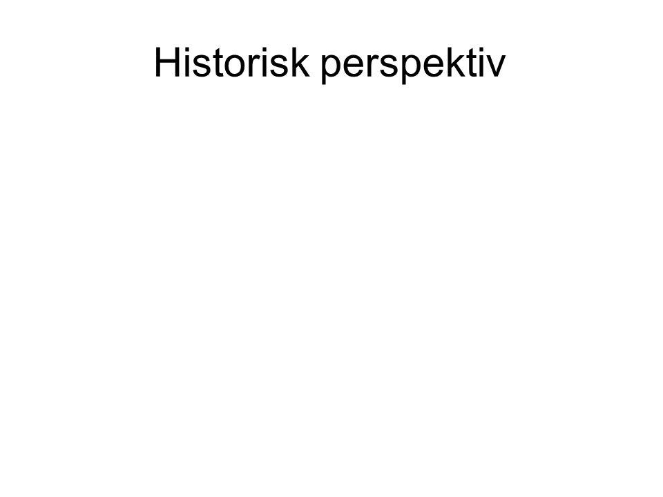 Historisk perspektiv
