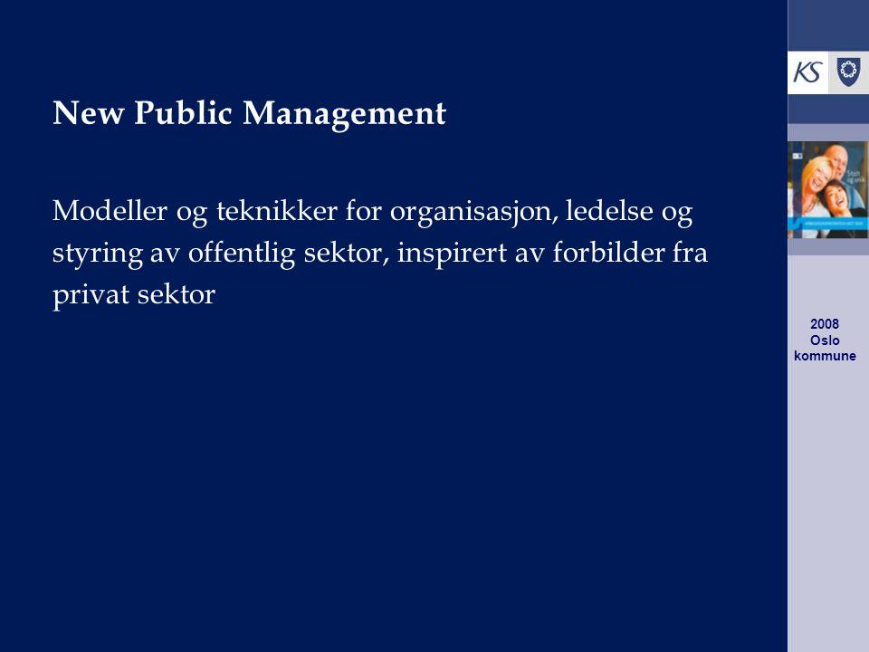 2008 Oslo kommune Seniorpolitikken virker Lederne ser på seniorene som mer attraktiv arbeidskraft enn før.