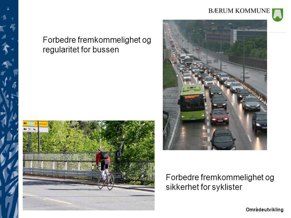Områdeutvikling Kommunedelplan for E18 Lysaker – Ramstadsletta Vedtatt i 2004 Arealbruken vist i planen gjelder fortsatt