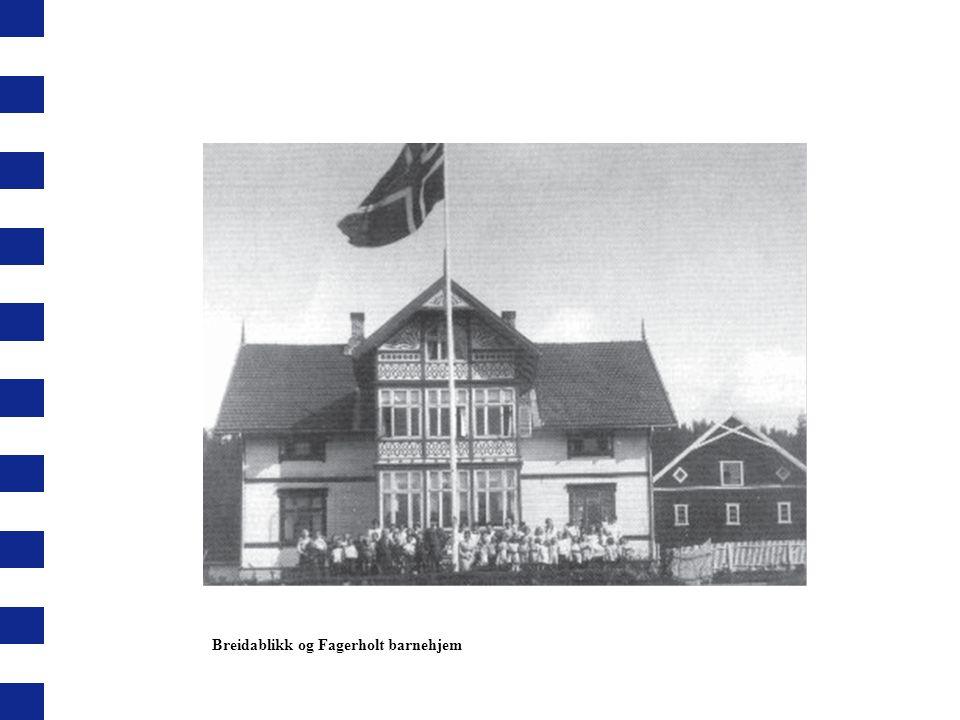 Breidablikk og Fagerholt barnehjem