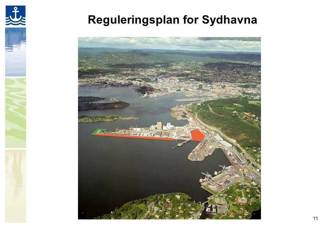 11 Reguleringsplan for Sydhavna