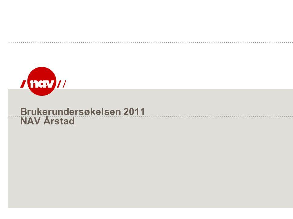 Brukerundersøkelsen 2011 NAV Årstad
