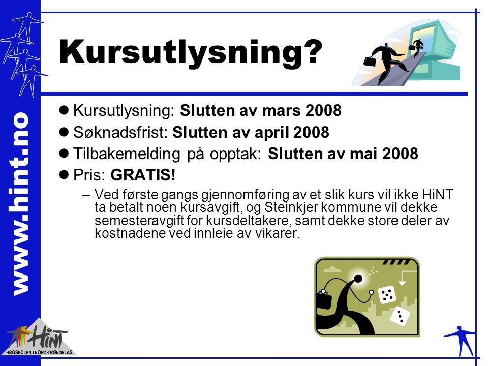 www.hint.no Kursutlysning.
