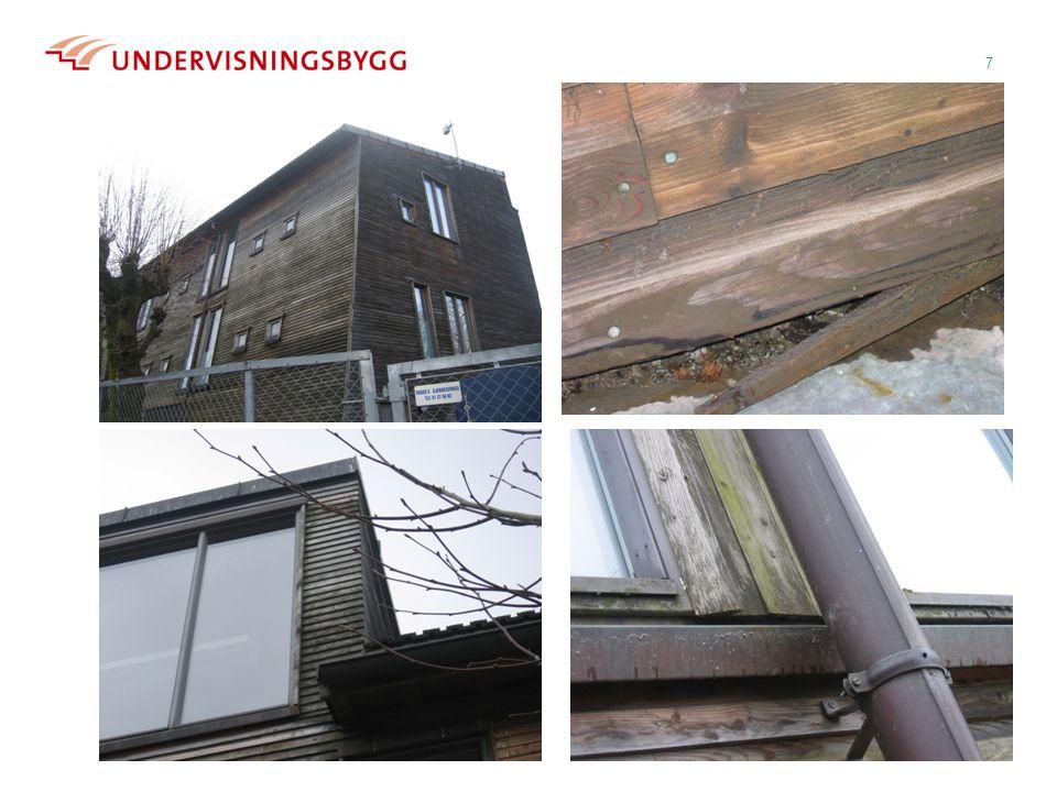 Prinsipper for plassering av inntaksrister til ventilasjonsanlegg  I forhold til vanninntregning  I forhold til snø  I forhold til hærverk 18