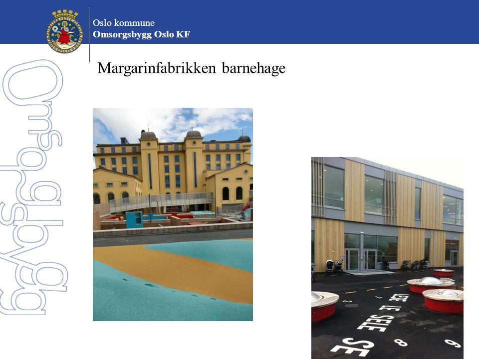 Oslo kommune Omsorgsbygg Oslo KF Universell utforming Alle bygg og anlegg skal kunne brukes av alle, uansett funksjonsgrad