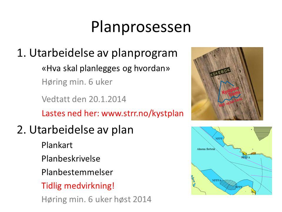 Planprosessen 1. Utarbeidelse av planprogram «Hva skal planlegges og hvordan» Høring min. 6 uker Vedtatt den 20.1.2014 Lastes ned her: www.strr.no/kys