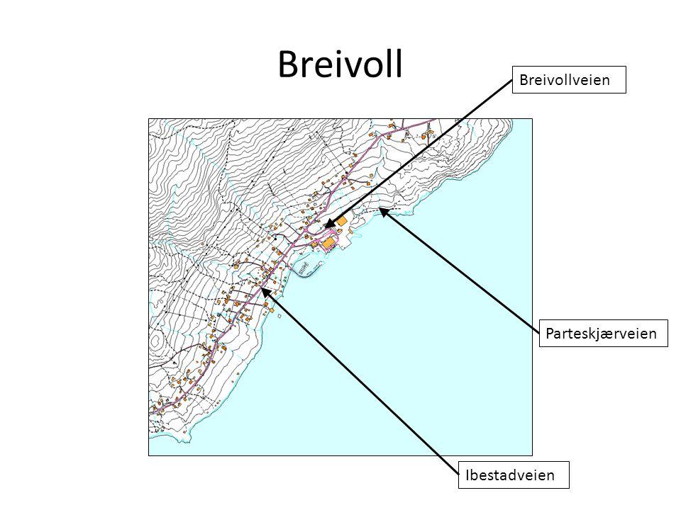 Breivoll Parteskjærveien Breivollveien Ibestadveien