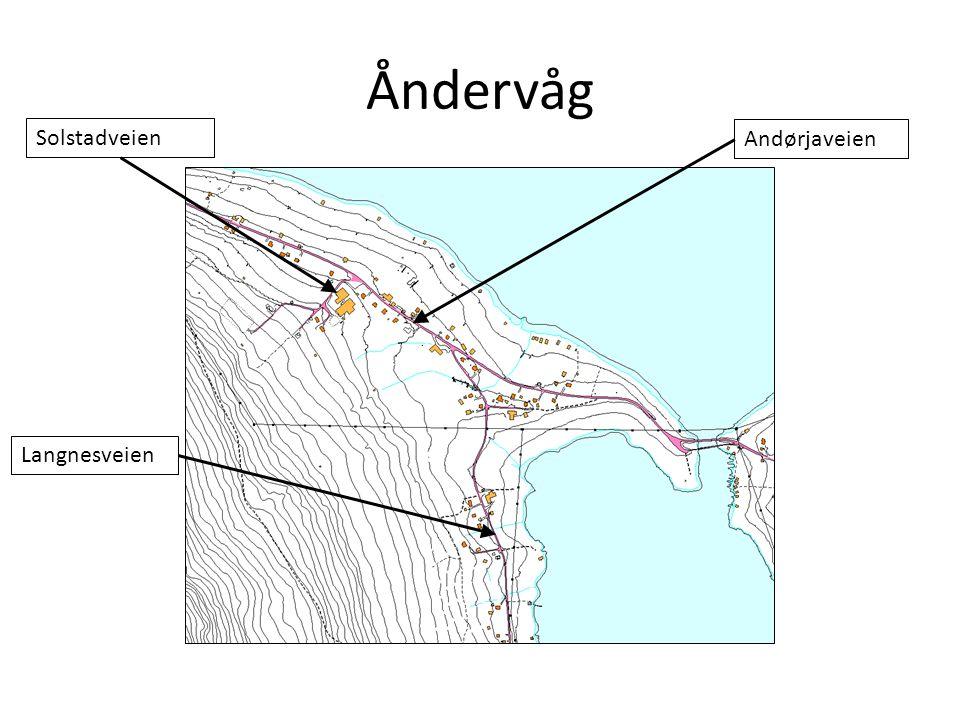 Åndervåg Solstadveien Andørjaveien Langnesveien