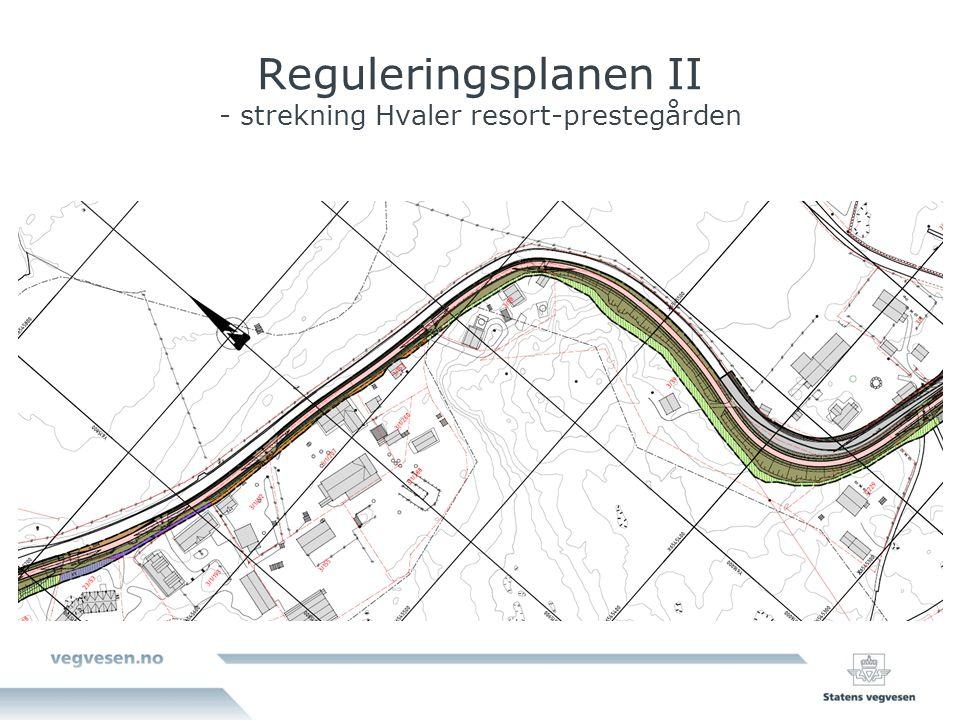 Reguleringsplanen II - strekning Hvaler resort-prestegården